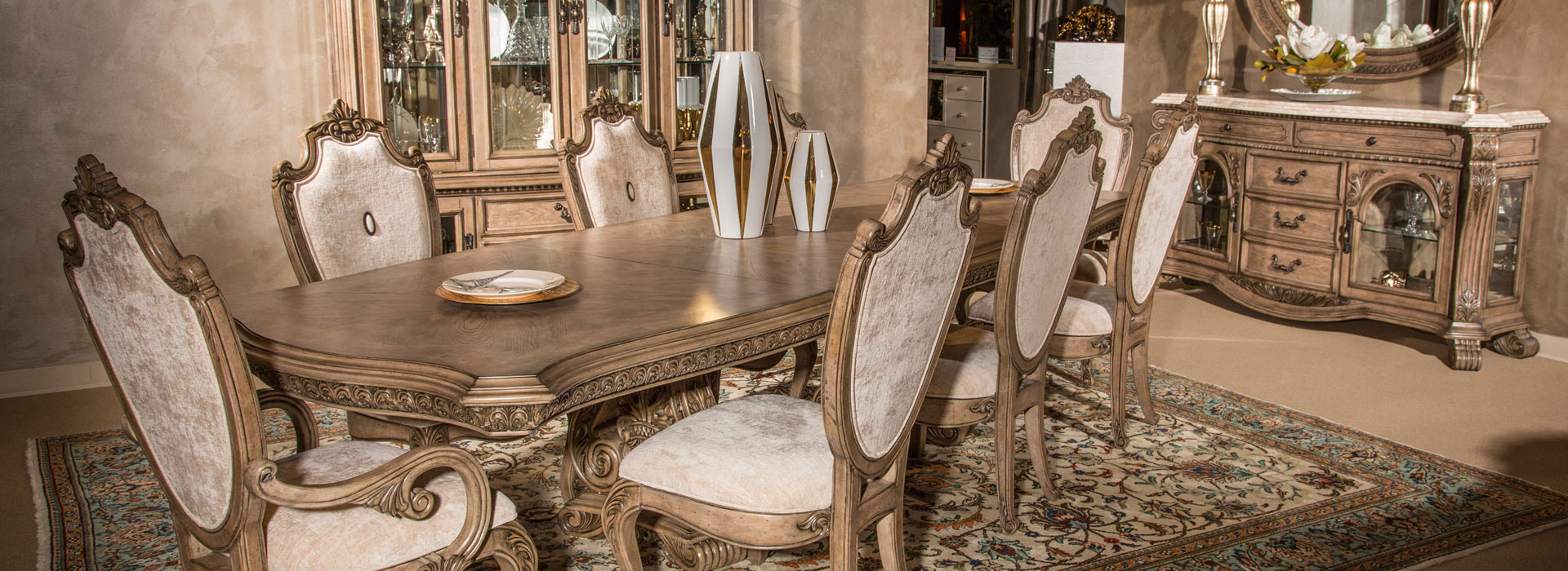 Villa Di Como Presents Classic Renaissance Revival Architectural Elements  With Palladian Arched Window Design On The Headboard And The Decorative  Fluted ...
