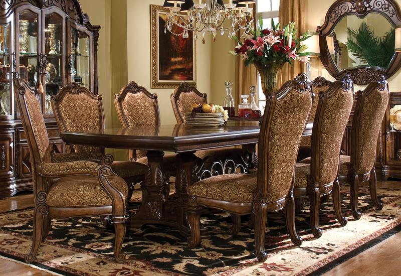 Michael Amini Furniture Designs Com, Aico Dining Room Table